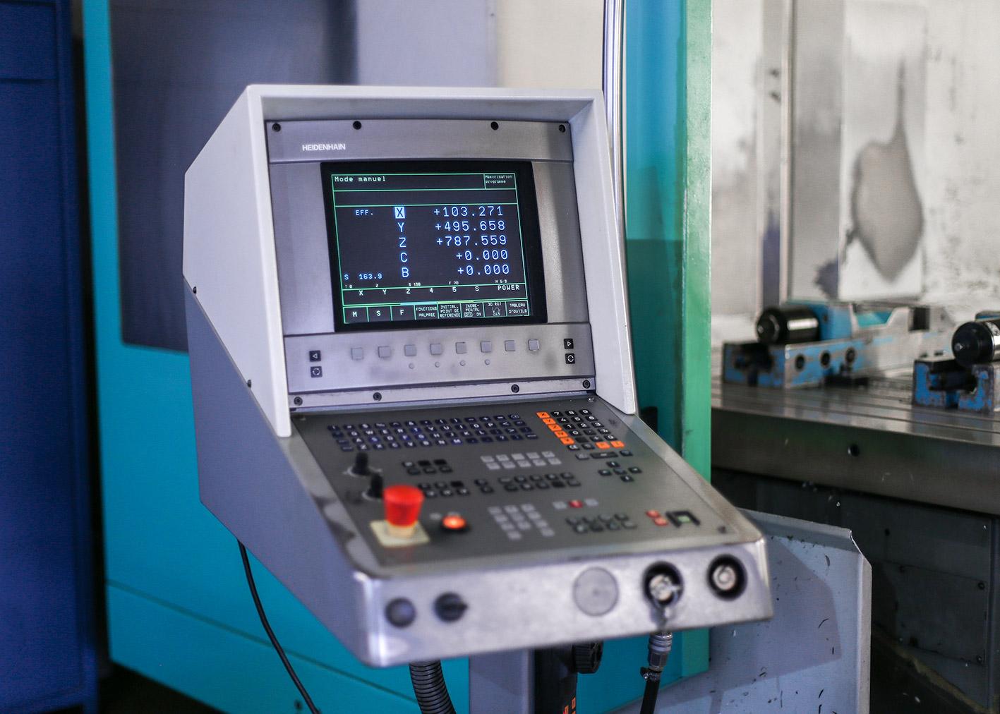 DMU 125 fraisage atelier reco mecanique valais salgesch