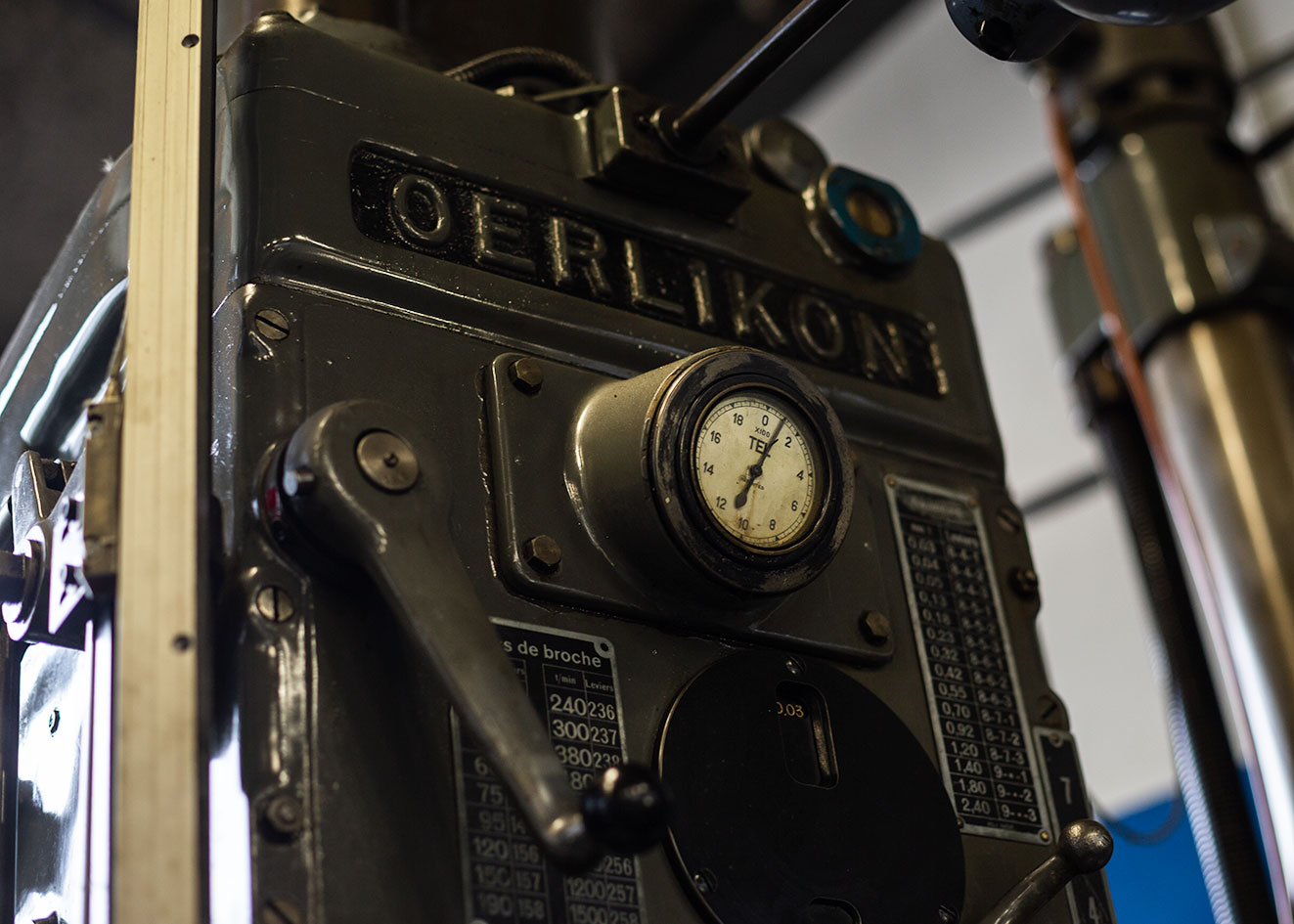 oerlikon R3 reparation reco mecanique
